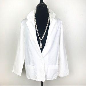 VINTAGE PEPPERTREE Blazer Off White Size Large